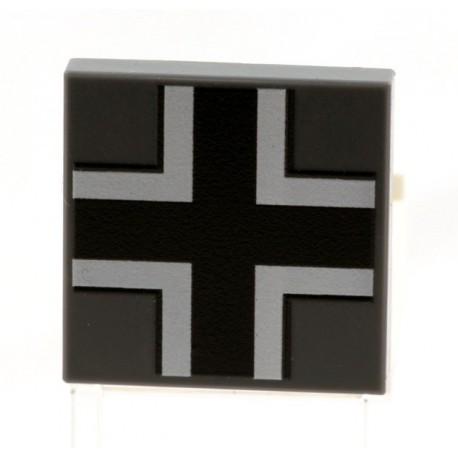 Lego eclipseGRAFX - Croix Allemande (Tile 2x2 - DBG)