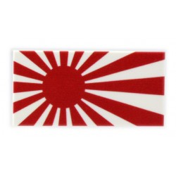 eclipseGRAFX - Rising Sun Flag (Tile 2x4)