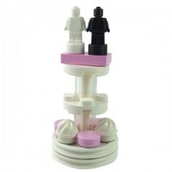 Lego Minifigure - Gateau de Mariage
