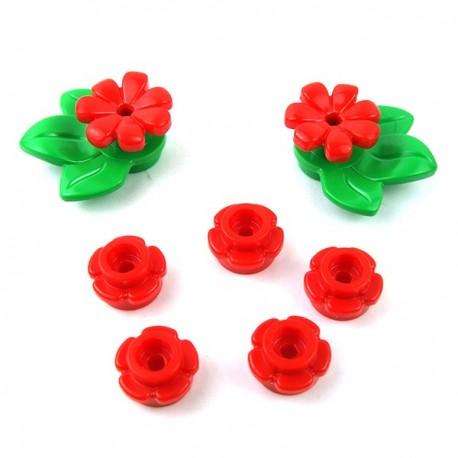 Lego Minifigure - Parterre de Fleurs