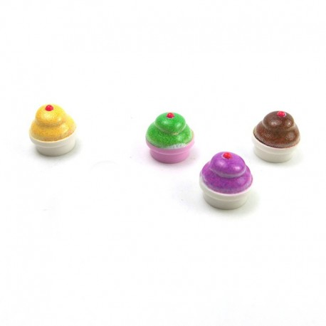 Lego eclipseGRAFX - Cupcakes (Brique ronde 1x1)
