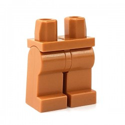 Lego Minifigure - Jambes (Medium Dark Flesh)