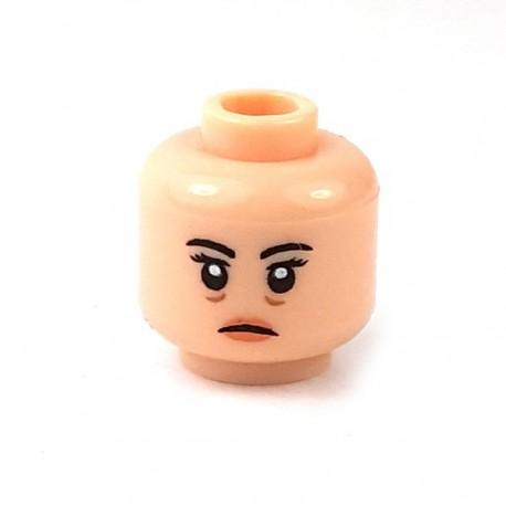 Lego Minifigure - Tête féminine chair 16