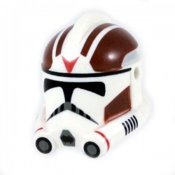 Clone Army Customs - Phase 2 Dark Red Rocket Helmet