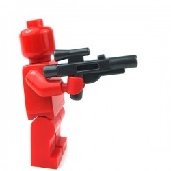 Lego - Minifig, Weapon Gun, Blaster Short (SW) (Pearl Dark Gray)