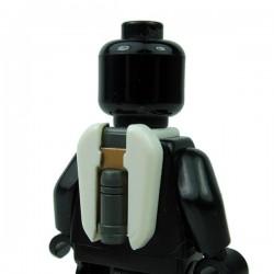 Lego Accessoires Minifigure Clone Army Customs - Commander Jetpack marquage Gris & Bronze