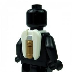Lego Accessoires Minifigure Clone Army Customs - Commander Jetpack marquage Bronze & Argent