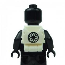 Lego Accessoires Minifigure Clone Army Customs - Open Back Pack Symbole Republic