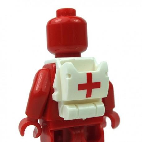 Lego Accessoires Minifigure Clone Army Customs - Open Back Pack Médic