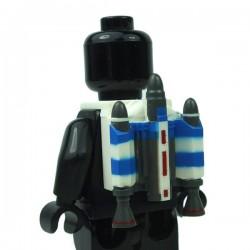 Clone Army Customs - Trooper Jetpack Blue Captain