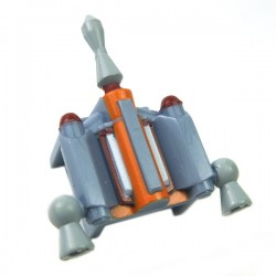 Lego Accessoires Minifigure Clone Army Customs - Hunter Jetpack Fett Sand Blue
