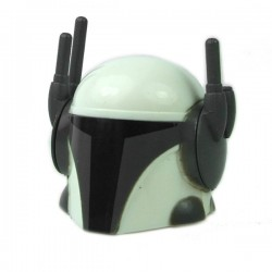 Clone Army Customs - Tech Mando White Helmet