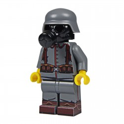 United Bricks Soldat Allemand WW1 LEGO Minifigure Militaire