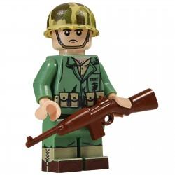 United Bricks WW2 Marine Carbine LEGO Minifigure