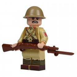 United Bricks WW2 Japanese Soldier LEGO Minifigure