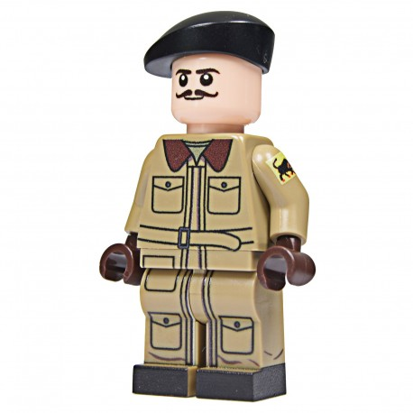 United Bricks Tankiste Anglais WW2 LEGO Minifigure
