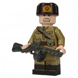 United Bricks Soldat Russe WW2 LEGO Minifigure