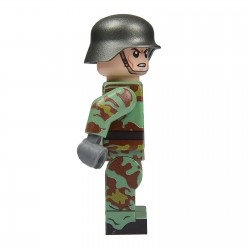 United Bricks Soldat Allemand Camouflage Italien WW2 LEGO Minifigure