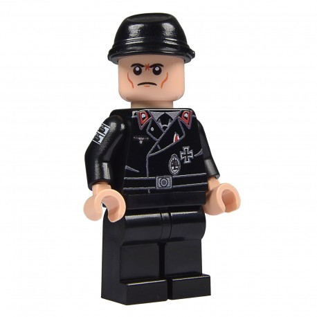 United Bricks Equipage Panzer WW2 LEGO Minifigure