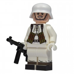 United Bricks Soldat Allemand Hiver WW2 LEGO Minifigure