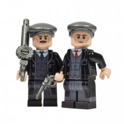 United Bricks British Peaky Blinders - Gangster Brothers LEGO Minifigure