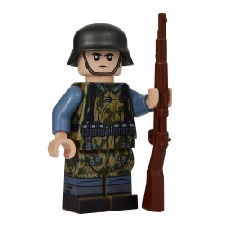 United Bricks WW2 Soldat Luftwaffe Field, Zeltbahn LEGO Minifigure