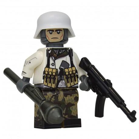 United Bricks WW2 Soldat Allemand Volksgrenadier LEGO Minifigure