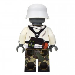 United Bricks WW2 Soldat Allemand Volksgrenadier LEGO Minifigure