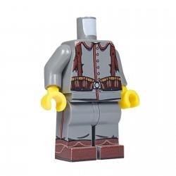 United Bricks Torse + Jambes WW1 Allemand LEGO Minifigure Militaire