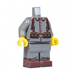 United Bricks Torso + Legs WW1 German LEGO Minifigure military