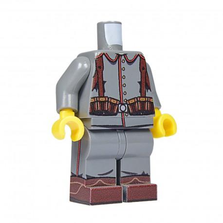 United Bricks Torso + Legs WW1 German LEGO Minifigure military