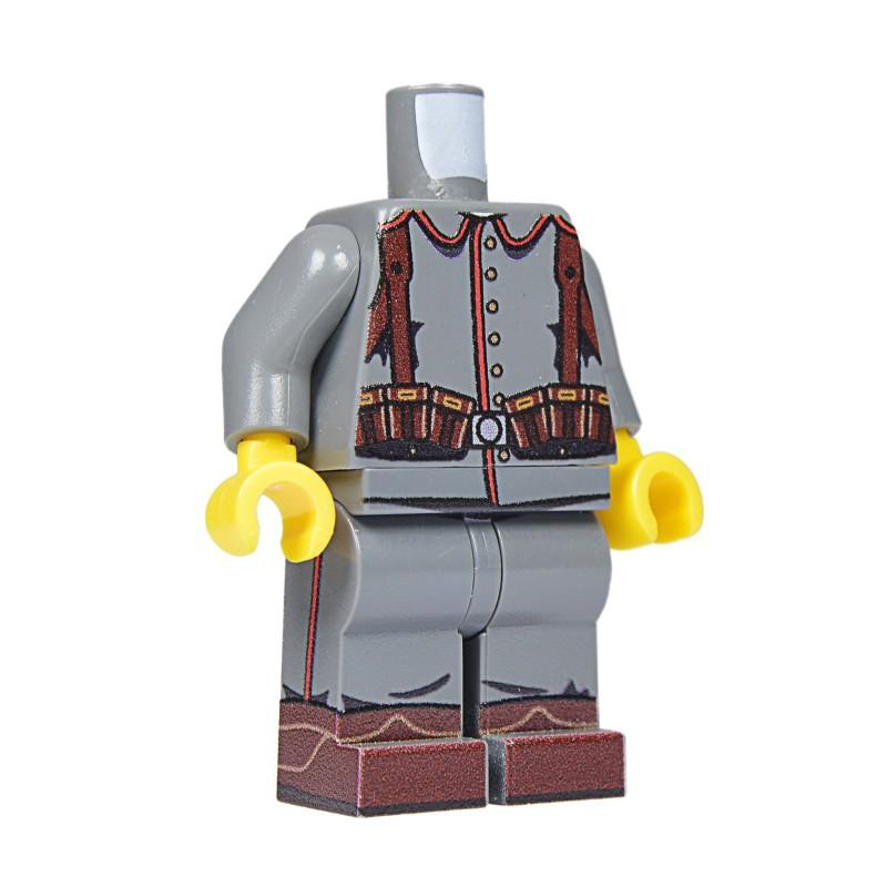 United Bricks Torso + Legs WW1 German LEGO Minifigure Custom