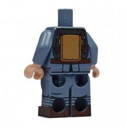 United Bricks Torse + Jambes Torse + Jambes WW1 Austo-Hongrois LEGO Minifigure Militaire