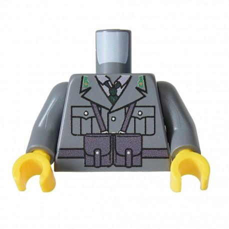 United Bricks Torso WW2 Italian LEGO Minifigure military