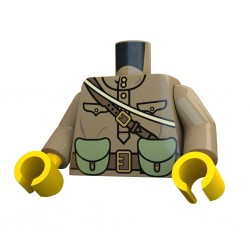 United Bricks Torso WW2 Russian PPSH LEGO Minifigure military