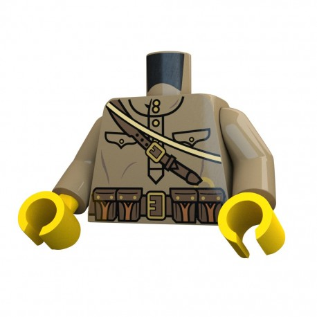 United Bricks Torso WW2 Russian Mosin LEGO Minifigure military