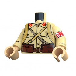 United Bricks Torso WW2 Japanese LEGO Minifigure military