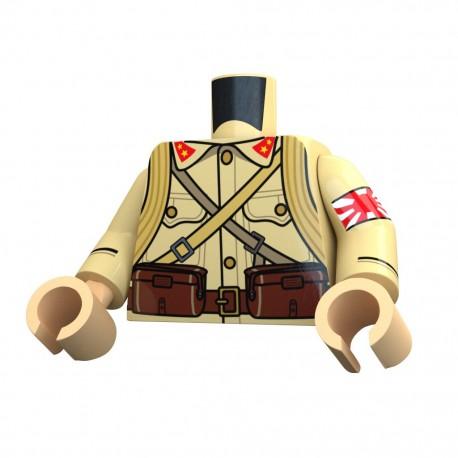 United Bricks Torse WW2 Japonais LEGO Minifigure Militaire