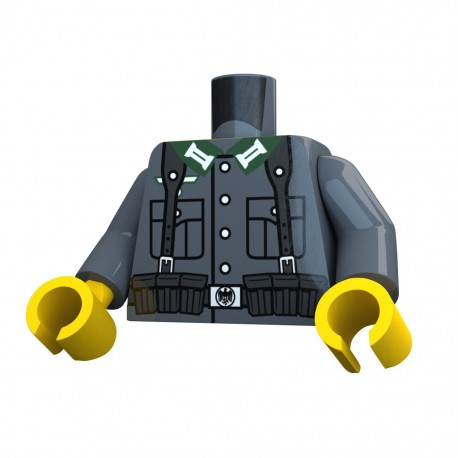 United Bricks Torse WW2 Allemand KAR LEGO Minifigure Militaire