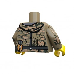 United Bricks Torse WW2 Allemand Oak LEGO Minifigure Militaire