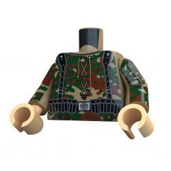 United Bricks Torse WW2 Allemand Platanenmuster LEGO Minifigure Militaire
