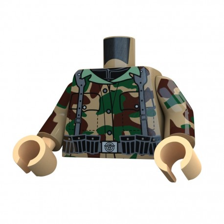 United Bricks Torse WW2 Allemand Panzergrenadier LEGO Minifigure Militaire