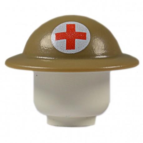 United Bricks WW2 British Medic Helmet LEGO Minifigure military
