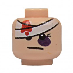 United Bricks bandage Head LEGO Minifigure military