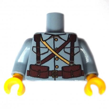 United Bricks Torse WW1 Français LEGO Minifigure Militaire