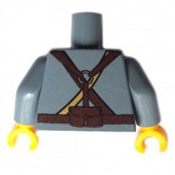 United Bricks Torso WW1 French LEGO Minifigure military