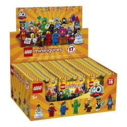 LEGO® Series 18 - box of 60 minifigures - 71021