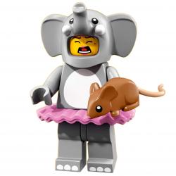 LEGO Minifig - Elephant Girl 71021 Series 18