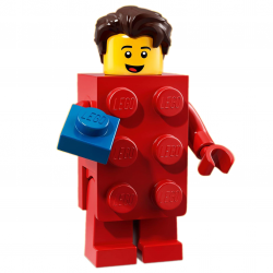 LEGO Minifig - Brick Suit Guy 71021 Series 18