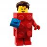 LEGO Minifig - l'homme déguisé en brique LEGO 71021 Série 18